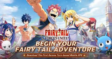FAIRY TAIL Forces Unite apk para Android juego anime rol