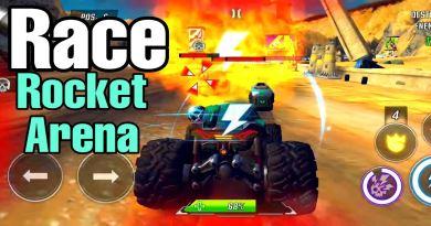 RACE Rocket Arena Car Extreme para Android Brutal juego de carreras