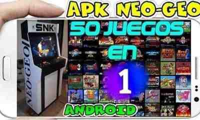 Descargar Apk Neo-Geo con 50 juegos en 1 para Android