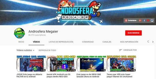 canal de youtube androsfera megaier