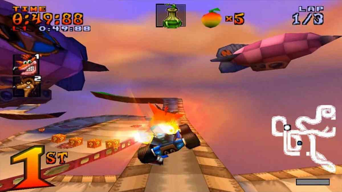 Crash Team Racing PSX
