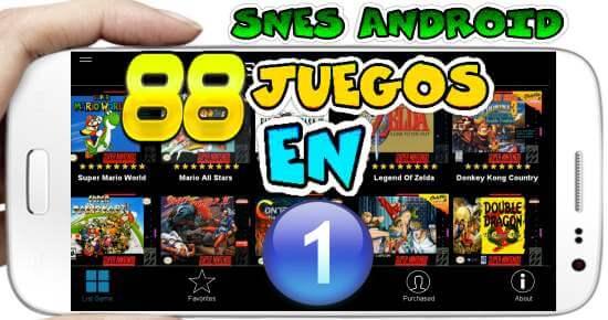 88 Juegos en 1 Android apk Sin Emulador Fácil Instalación