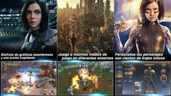 Alita Battle Angel The Game para Android based on the Alita movie