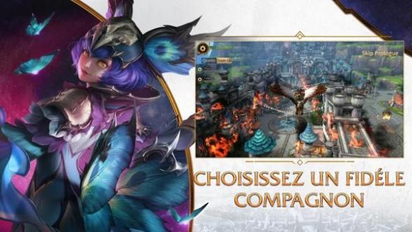 Era of Legends apk para Android Fantasy MMORPG