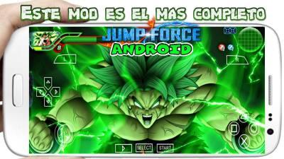 Dragon Ball TTT Mod versión Broly Jump Stars 2019 para Android