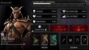 Personajes Mortal Kombat 11 en Android