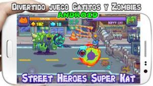 Street Heroes Super Kat Man Beat Zombie para Android Descarga Gratis