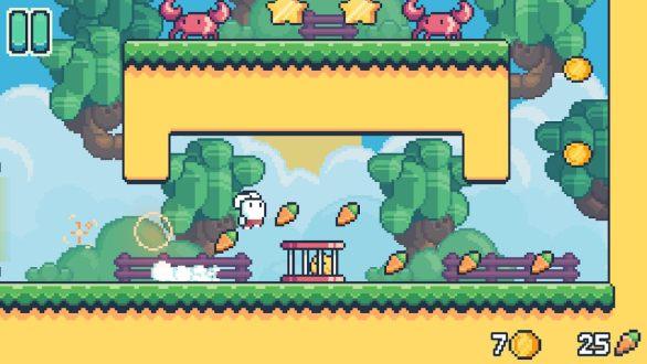 Yeah Bunny 2 pixel retro arcade platformer para Android Descarga apk