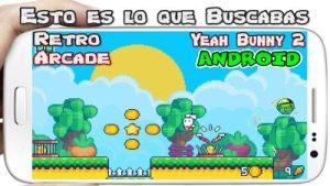 Yeah Bunny 2 pixel retro arcade platformer para Android