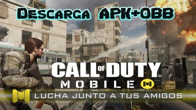 Call of Duty Mobile para Android Descarga apk + obb ya Disponible