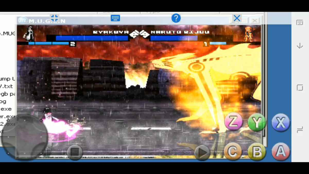 Anime Jump Stars Battle 2 MUGEN para Android y PC