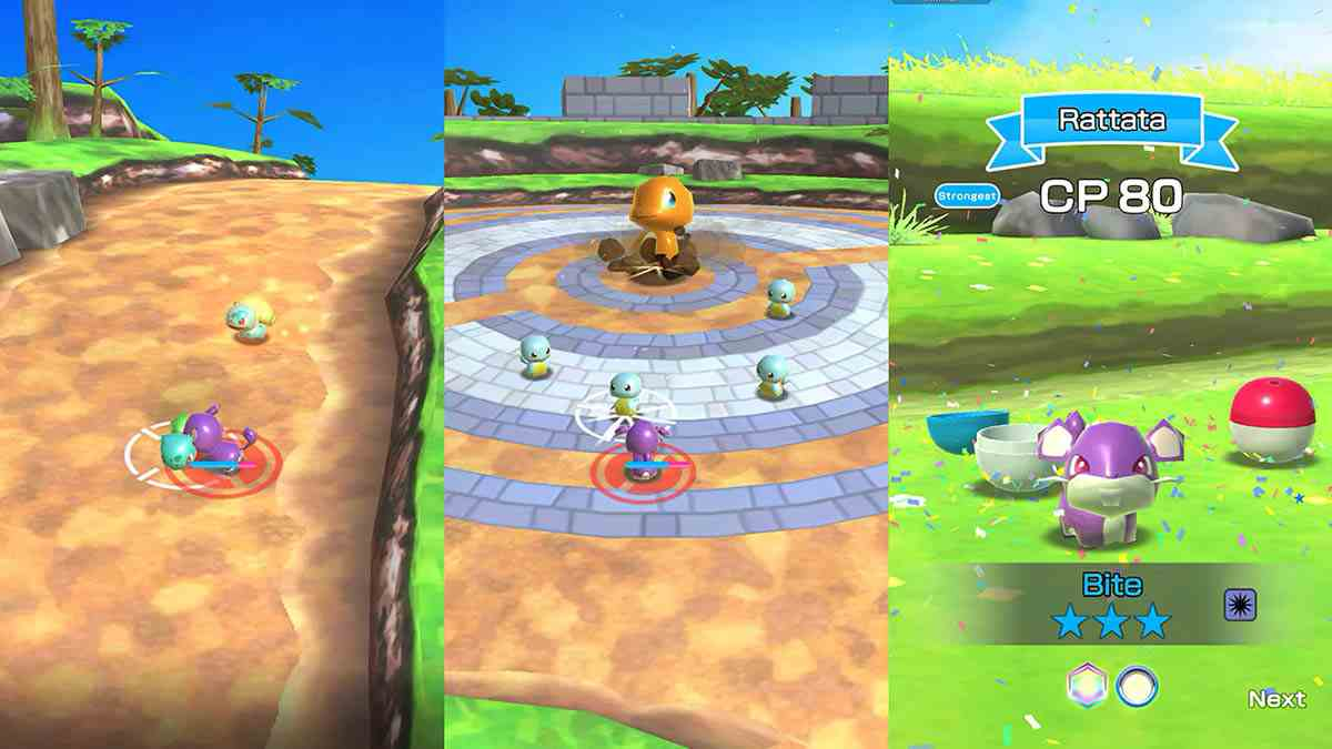 Pokémon Rumble Rush apk for android