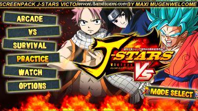 Jump Stars Victory Mugen VS 1.0 para Android y PC Juégalo