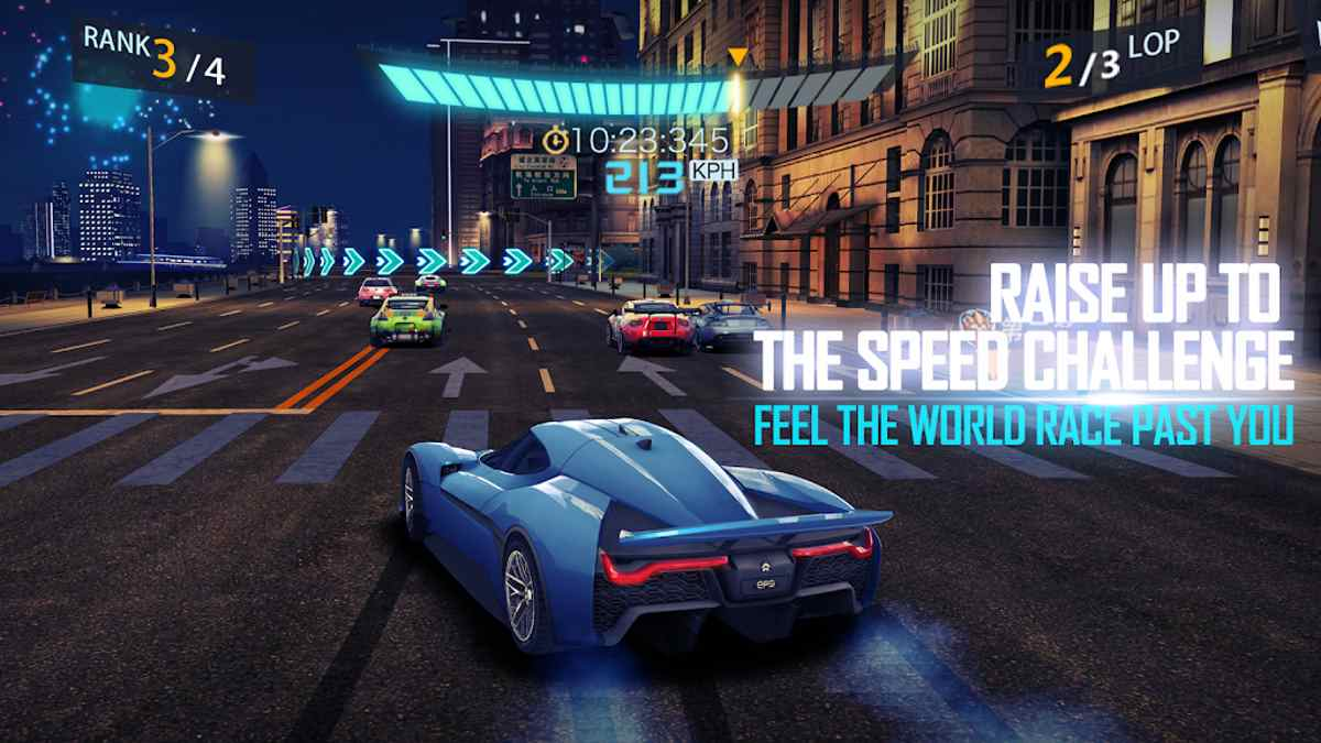 Arena of Speed Fast and Furious para Android Amazing Racing