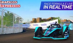 Ghost Racing Formula E para Android Juego Realmente espectacular