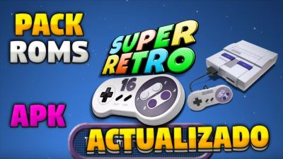 Super Retro 16 apk para Android mas pack de juegos para móvil