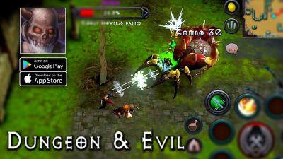 Dungeon and Evil apk para Android Nuevo juego similar a Diablo