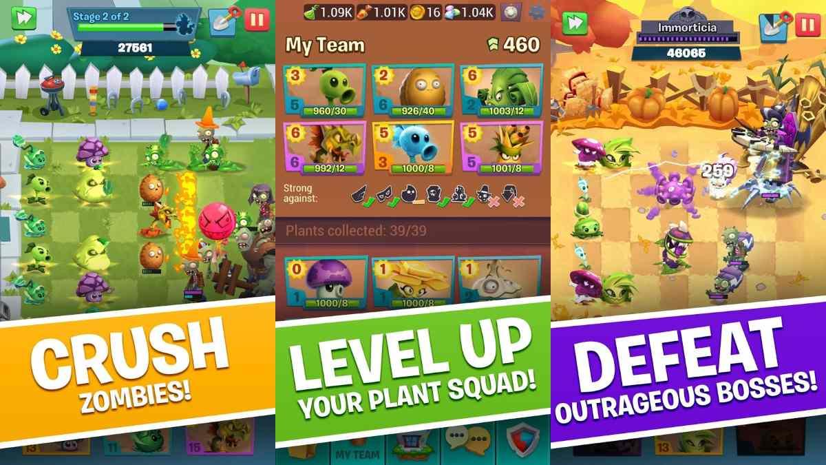 Plants vs Zombies 3 ya DISPONIBLE en android e iOS