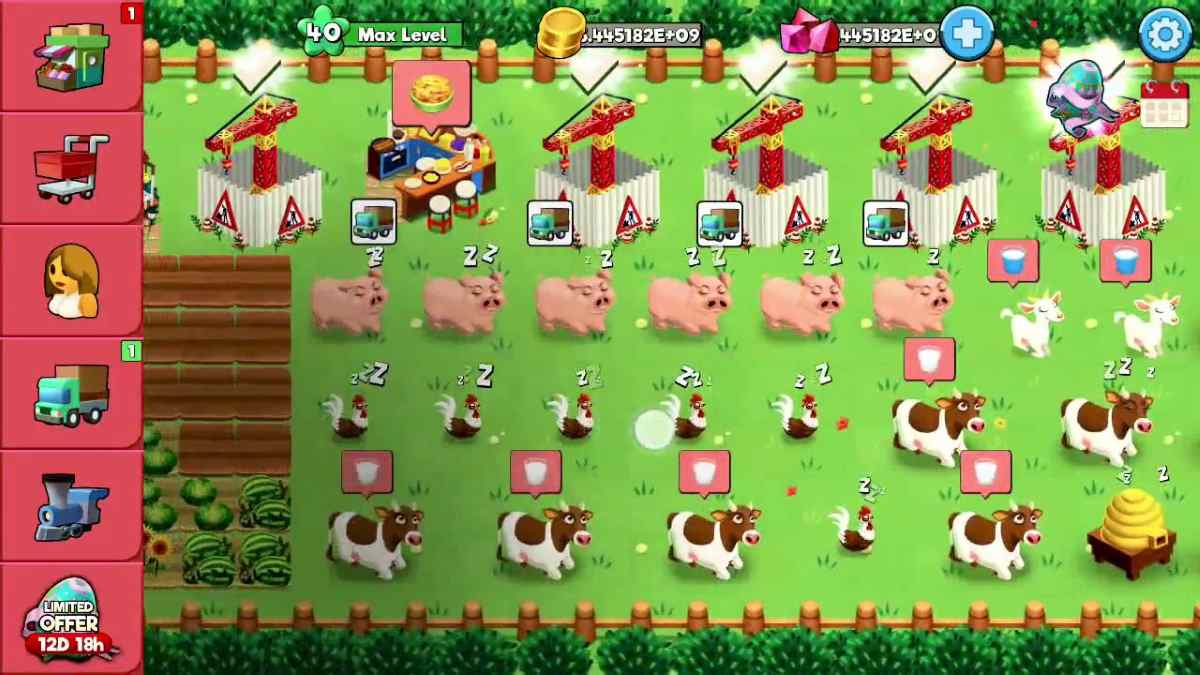 Booty Farm MOD APK Unlimited Energy Money Diamonds