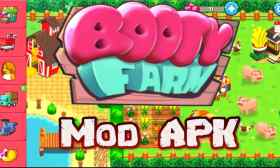 Booty Farm MOD APK Unlimited Energy Money Diamonds para Android