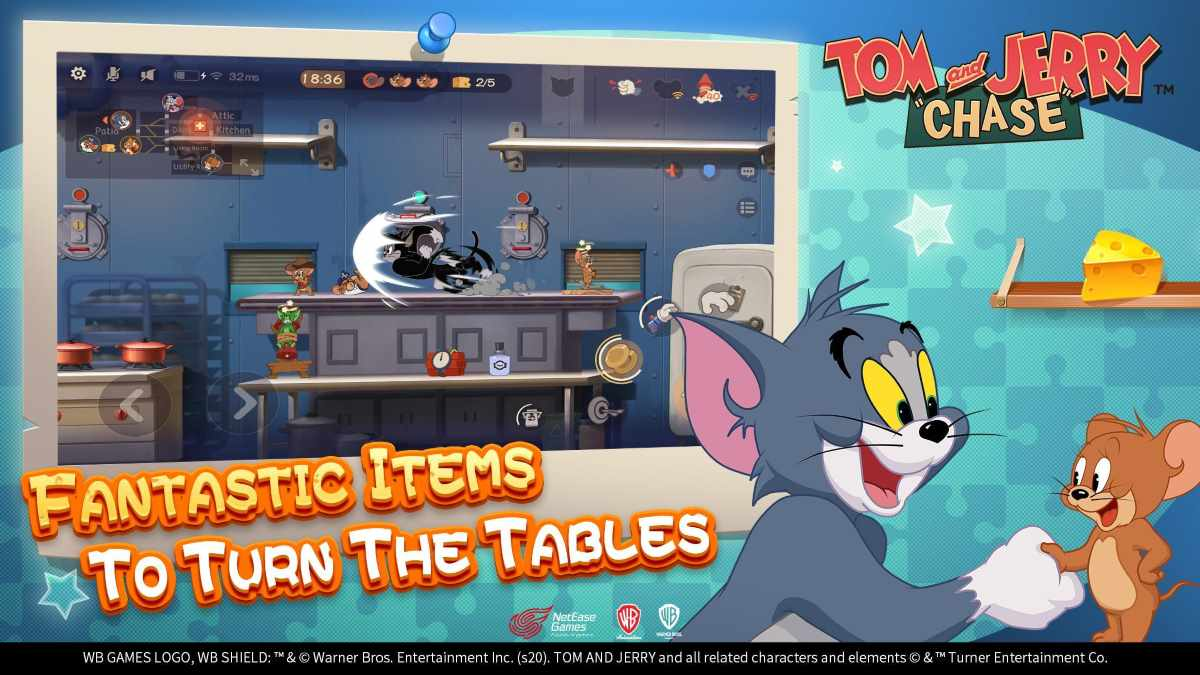 Tom and Jerry Chase apk para Android