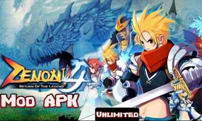 ZENONIA 4 Mod Apk RPG Offline Android