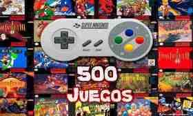 500 juegos en 1 para Android Los mejores juegos clásicos de Snes