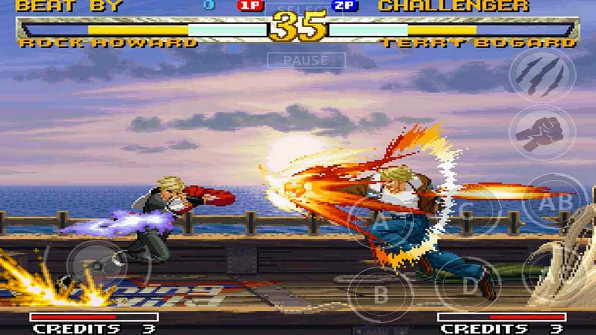 Garou Mark of the Wolves para Android Juego apk