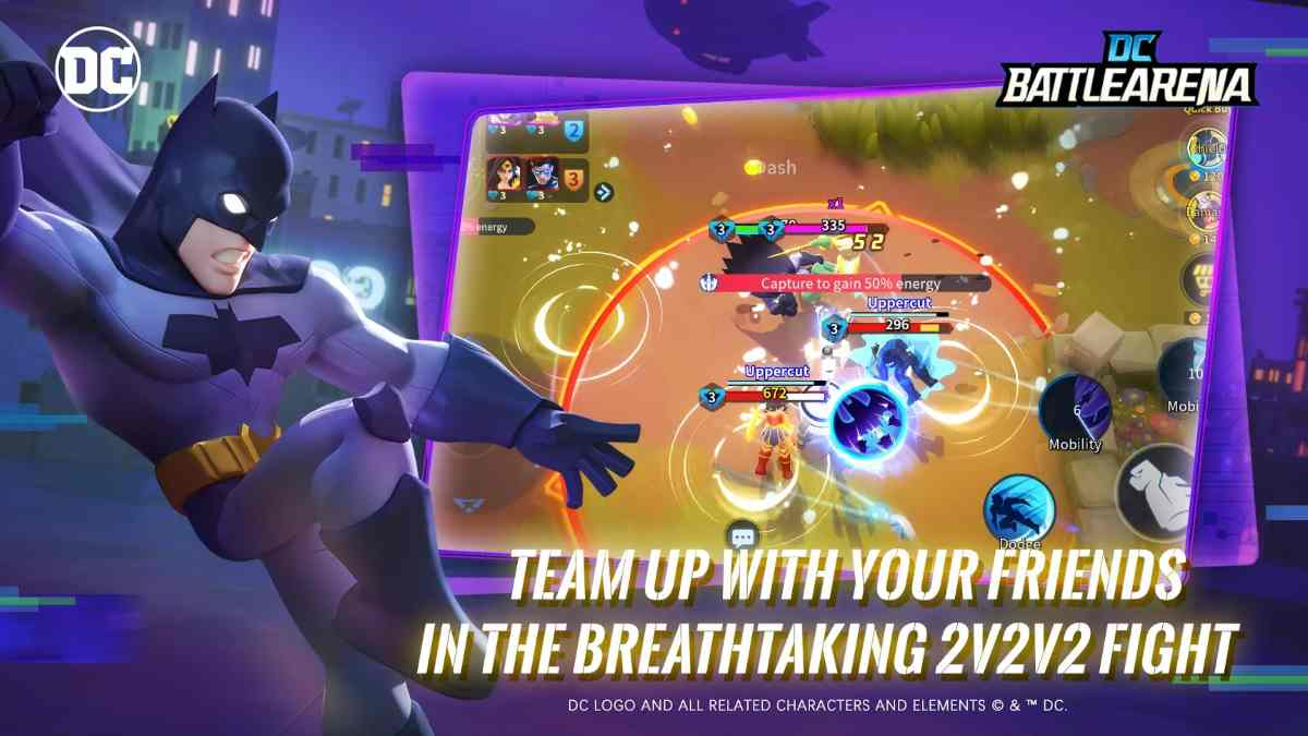 DC Battle Arena APK para Android