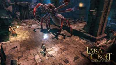 Lara Croft Guardian of Light para Android 1