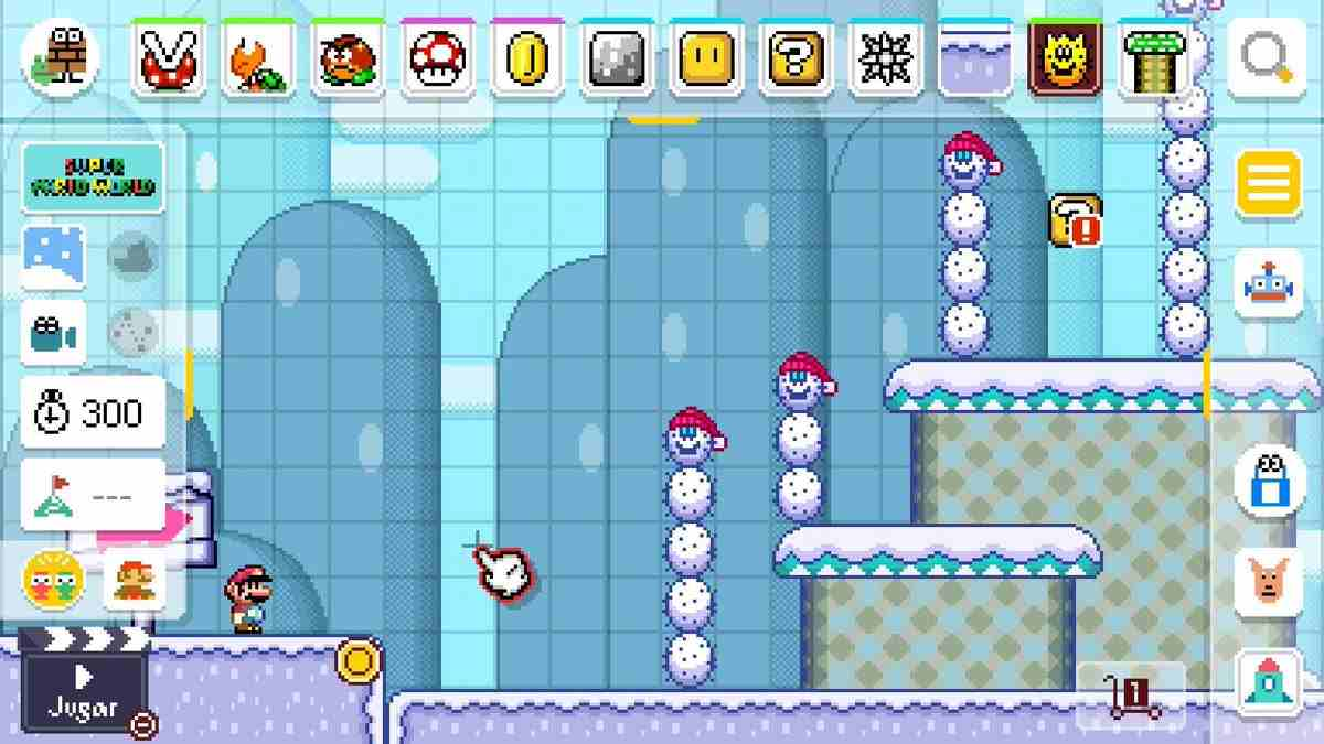 Super Mario Maker World Engine