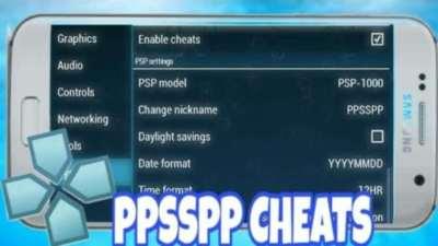 5000 Cheats Codes para Juegos PPSSPP Android PC mas Emulador Mod