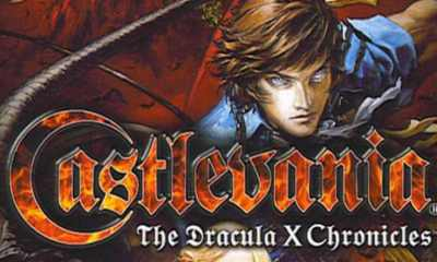 Castlevania The Dracula X Chronicles juego de PSP