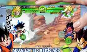 DBZ Tap Battle Mugen apk para Android Nueva Modificación