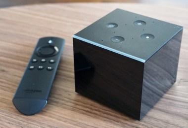 أمازون تطلق جهاز Fire TV Cube