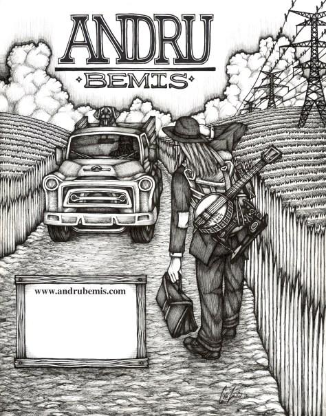 Andru Bemis poster by Caleb Zweifler | andrubemis.com