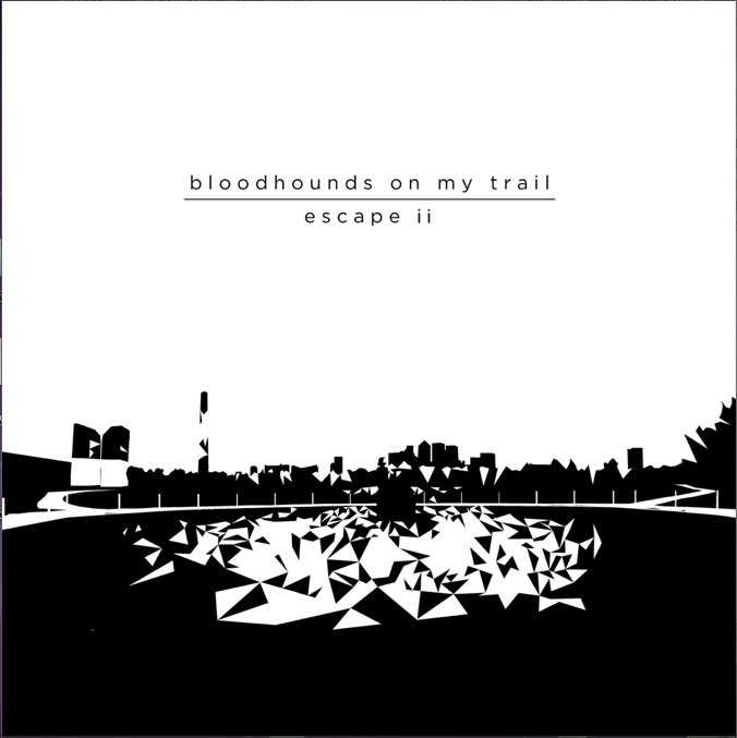 Review of 'Escape II' album by bloodhounds on my trail on Moon Sounds Records