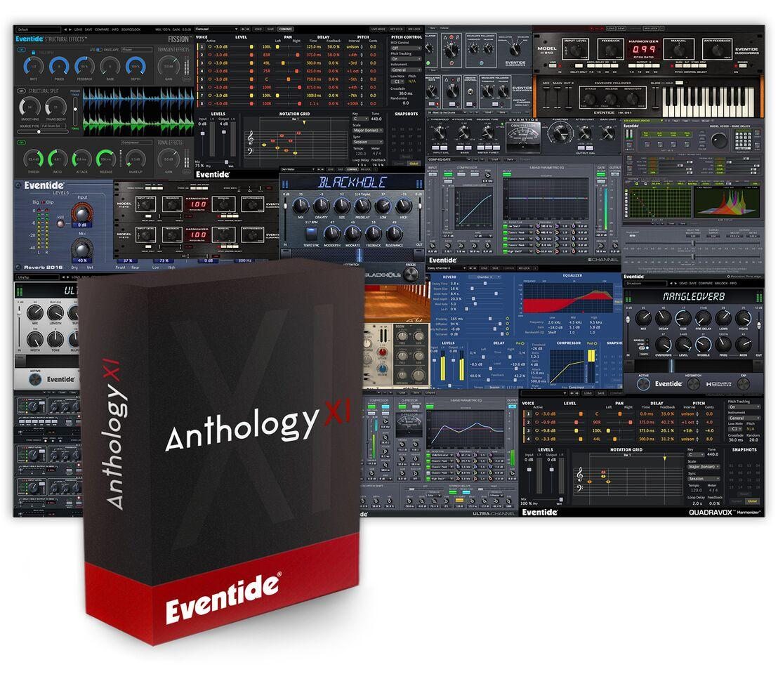 Eventide announces availability of Anthology XI as 'everything' bundle – a phenomenal collection of 23 plugins