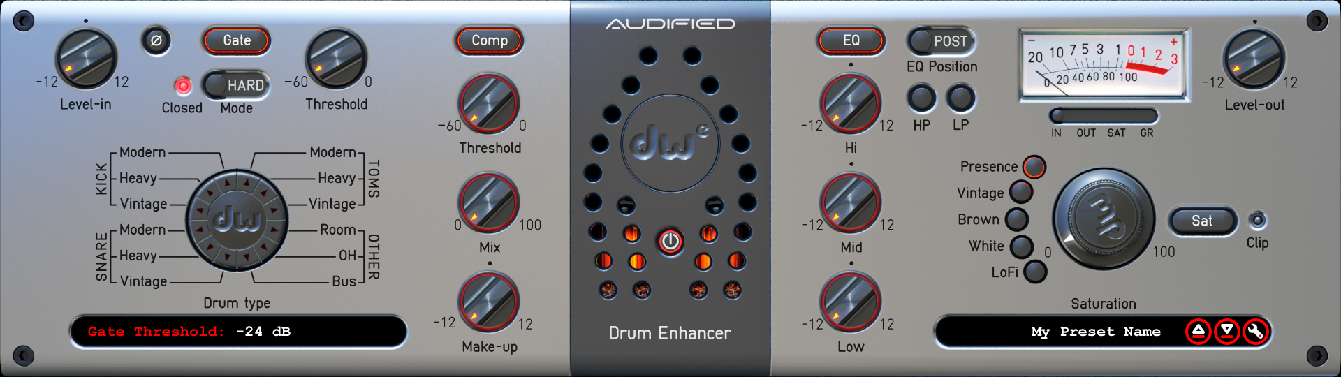 Review of DW Drum Enhancer plugin by Audified
