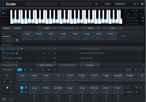 Review of Scaler 1.5 – chord detection and creative chord progression creator utility (VST/AU/AAX) by PluginBoutique