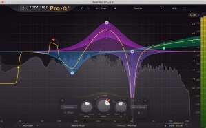 Review of Pro-Q 3 (VST/AU/AAX) Equaliser plugin by FabFilter