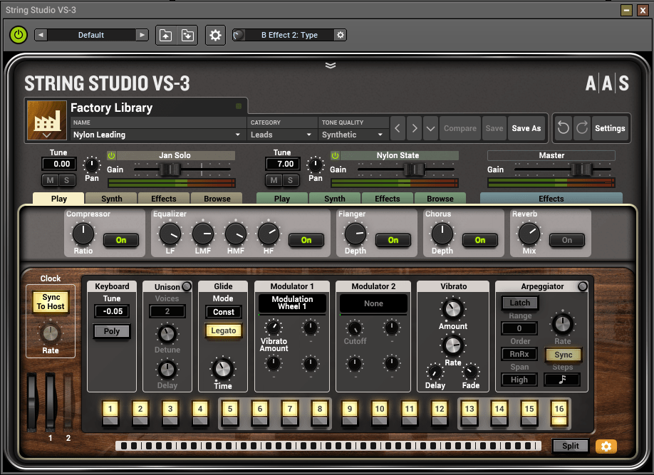 Review of String Studio VS-3 String Oscillator Synthesiser (VST/AU/AAX) by Applied Acoustics Solutions (AAS)