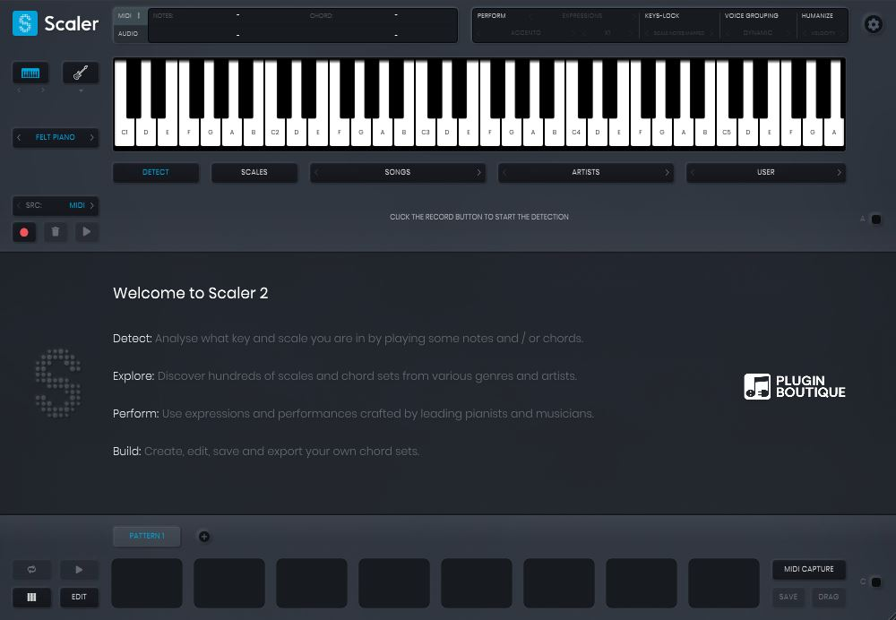 Review of Scaler 2 – chord detection and creative chord progression creator utility (VST/AU/AAX) by PluginBoutique