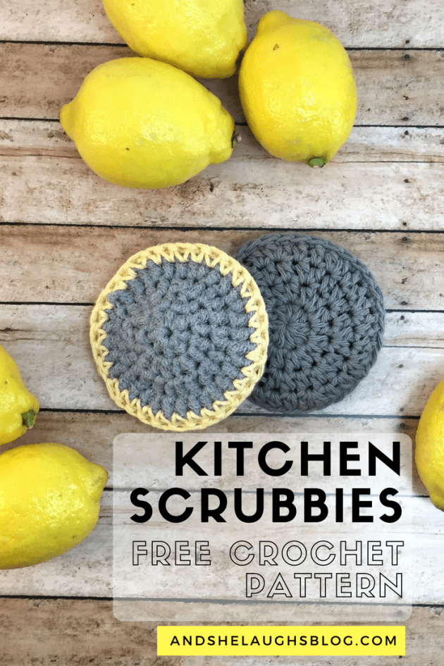 Nylon and Cotton Scrubbies