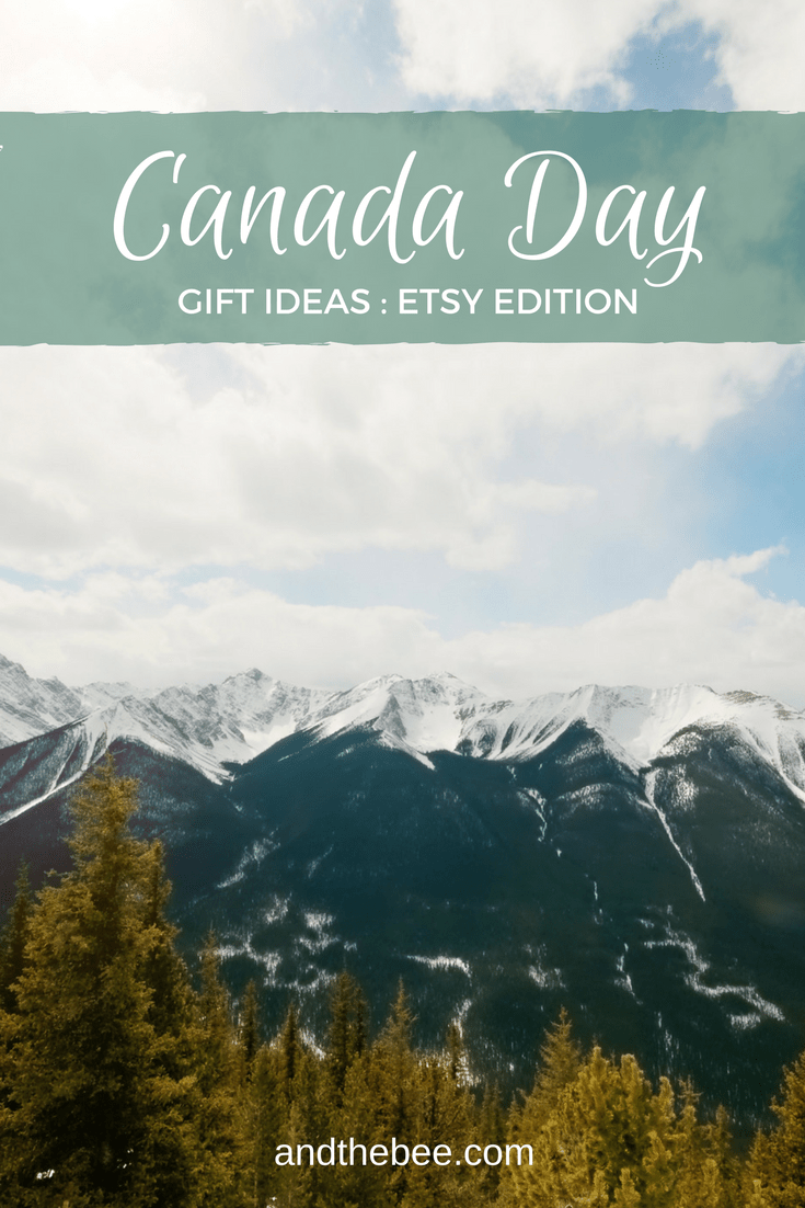 Canada Day gifts ideas from Etsy Editors Picks
