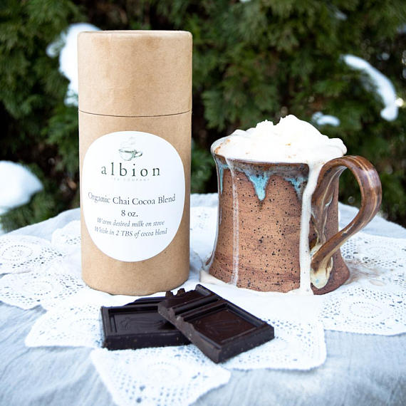 Stay cozy this winter with Etsy. Sweaters, socks, hot chocolate, and more!