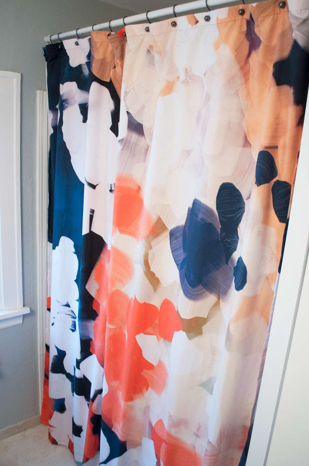 Turning A Society6 Tapestry Into A DIY Extra Long Shower Curtain And Then We Tried
