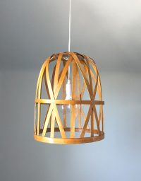 DIY Basket Pendant Light | And Then We Tried