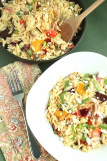 Ina Garten Orzo Salad with Roasted Vegetables