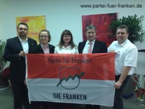 v.l. Andreas Brandl, Christiane von Thüngen, Karola Kistler, Robert Gattenlöhner, Werner Bloos